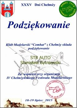 Pomoc w organizacji IV Chełmżyńskiego Festiwalu Modelarskiego 2015